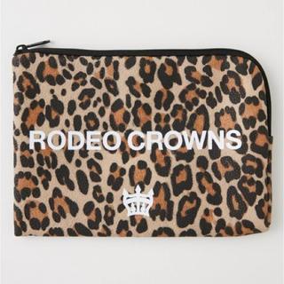 ロデオクラウンズワイドボウル(RODEO CROWNS WIDE BOWL)のR goods POUCH 柄BRN/F (ポーチ)