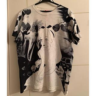 アチャチュムムチャチャ(AHCAHCUM.muchacha)のあちゃちゅむ  水墨画 アリス Tシャツ(Tシャツ(半袖/袖なし))