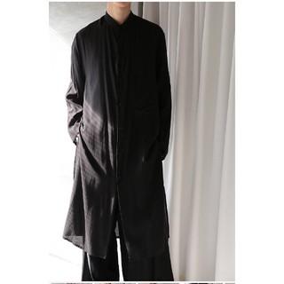 Yohji Yamamoto - Yohji Yamamoto pour homme 19ss ロングシャツ