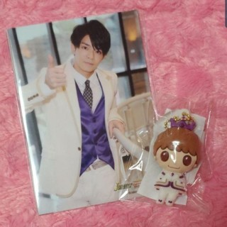 Johnny's - キンプリ PVC スイートガーデン 岸優太 フォトセセット