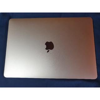 マック(Mac (Apple))のMacBookAir 2018 Retina 13inch ゴールド (ノートPC)