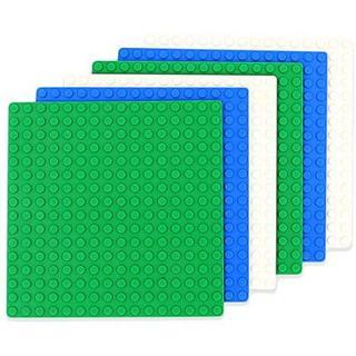 INIBUD 基礎板 ブロック プレート クラシック 互換性 16×16ポッチ