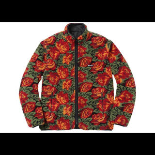 シュプリーム(Supreme)のSupreme Roses Sherpa Fleece Reversible(ブルゾン)