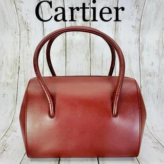 Cartier - 極美品 Cartier カルティエ マストライン レザー ハンドバッグ