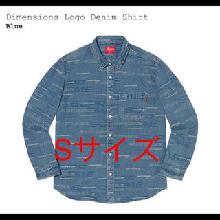 Supreme - Sサイズ Supreme Dimensions Logo Denim Shirt