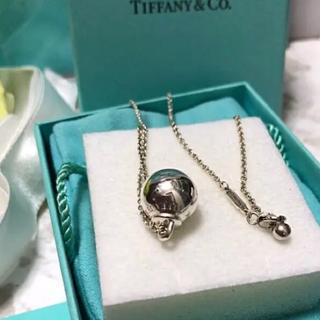 Tiffany & Co. - 新作Tiffanyハードウェアボールネックレス12.75㎜