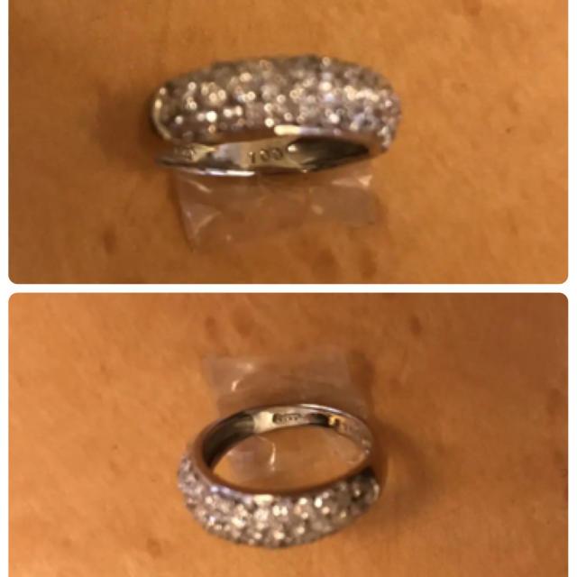 Pt900 プラチナ ダイヤモンド 1.00 ct レディースのアクセサリー(リング(指輪))の商品写真