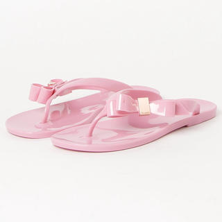 TED BAKER - Ted Baker SUSZIE リボンデザイン ビーチサンダル 新品 美品