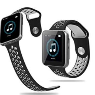 【新品未使用】MP3プレーヤー16GB Bluetooth 腕時計式(ポータブルプレーヤー)