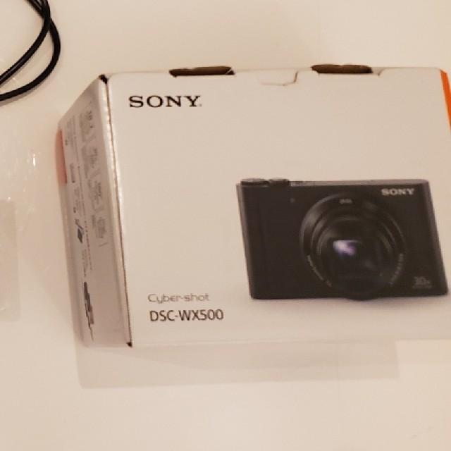 SONY  DSC-WX500 スマホ/家電/カメラのカメラ(コンパクトデジタルカメラ)の商品写真