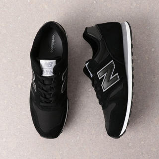 New Balance - ニューバランス  373  ブラック  23.5