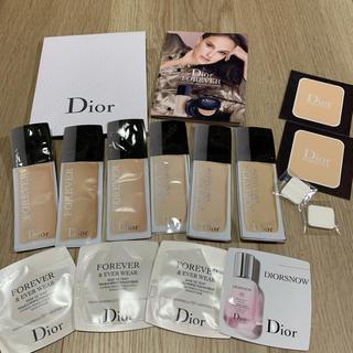 ディオール(Dior)の新品 未開封 15点セット ファンデーション ベース(ファンデーション)