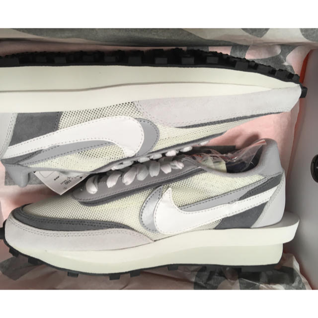 NIKE(ナイキ)のNike sacai LDWAFFLE ナイキ サカイ サミットホワイト メンズの靴/シューズ(スニーカー)の商品写真