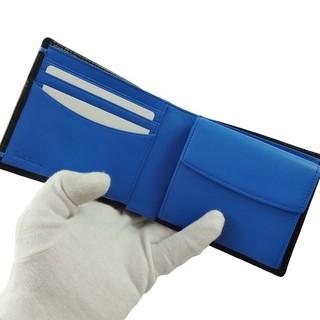 ポールスミス(Paul Smith)の★新品★ポールスミス二つ折り財布黒カラーコンビパルメラート 箱無し(折り財布)