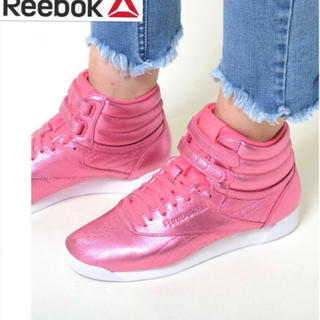 Reebok - 24.5 新品 リーボッ Reebok レディース スニーカー 天然皮革