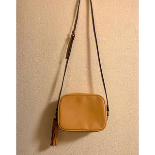 エイチアンドエム(H&M)の未使用 秋 マスタード色 ショルダーバッグ(ショルダーバッグ)