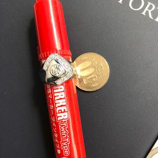 プラチナ台ダイヤモンドリング メンズ(リング(指輪))