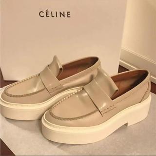 セリーヌ(celine)のセリーヌ CELINE フィービー 厚底ローファー 定価 約13万(ローファー/革靴)