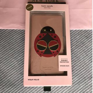 ケイトスペードニューヨーク(kate spade new york)のケイトスペード 新品 スペーダマルズ レディバグ iPhone X XS ケース(iPhoneケース)