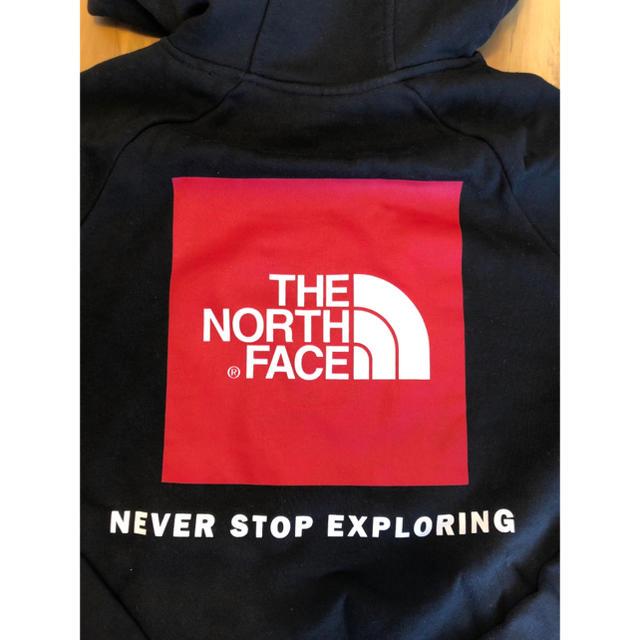 THE NORTH FACE(ザノースフェイス)の【Lサイズ】新品 ロゴ パーカー North face ブラック ボックス ロゴ メンズのトップス(パーカー)の商品写真