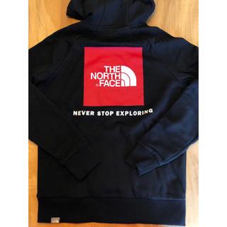 THE NORTH FACE - 【Lサイズ】新品 ロゴ パーカー North face ブラック ボックス ロゴ