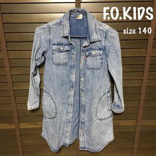 エフオーキッズ(F.O.KIDS)のF.O.KIDS デニムワンピ 140(ワンピース)