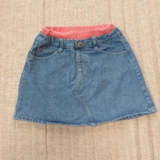 最終値下げ!!☆美品☆BREEZE デニム スカート 120cm