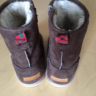 ファミリア(familiar)のファミリア ブーツ 17㎝ ブラウン(ブーツ)