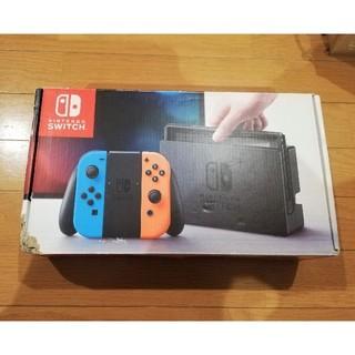 Nintendo Switch - 【保証あり】任天堂 スイッチ ネオンレッド ネオンブルー