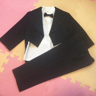 キャサリンコテージ(Catherine Cottage)のタキシード 燕尾服セット 結婚式 90センチ 男の子(ドレス/フォーマル)