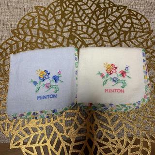 MINTON - 新品  MINTONタオルハンカチ