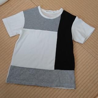 ザショップティーケー(THE SHOP TK)のTHE SHOP TK ブロッキング Tシャツ140(Tシャツ/カットソー)