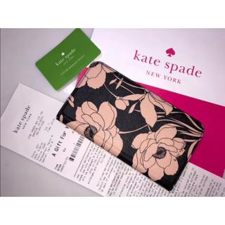 ケイトスペードニューヨーク(kate spade new york)の13ケイトスペード◆WIRU1042 iPhoneXRケース 手帳型ケース 花柄(iPhoneケース)