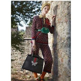 ドリスヴァンノッテン(DRIES VAN NOTEN)のゴブラン織り ズボン パンツ ブラウン ヴィンテージ 花柄 ドリス グッチ(カジュアルパンツ)