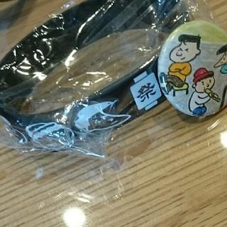 ゴリパラ見聞録☆ラバーバンド&キャンプ缶バッチ(お笑い/バラエティ)