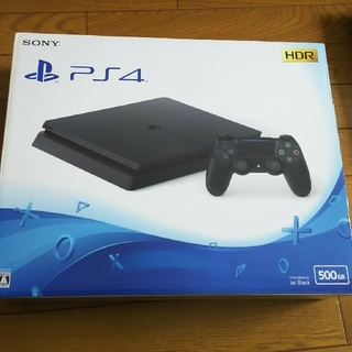 PlayStation4 - PlayStation4 ジェット・ブラック 500GB (中古)