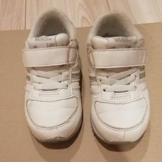ヴァンズ(VANS)の子供靴 VANS 白 サイズ15cm(スニーカー)