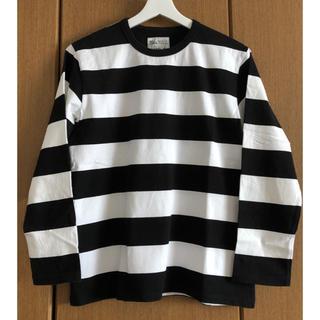 agnes b. - トップス Tシャツ カットソー ボーダーアニエスベー×ビオトープ