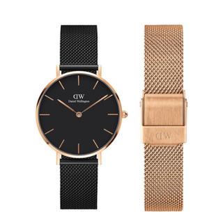 Daniel Wellington - 【32㎜】ダニエル ウェリントン腕時計 DW201+ベルトSET《3年保証付》