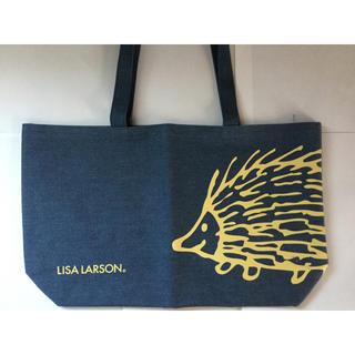 リサラーソン(Lisa Larson)のリサラーソン◆デニム生地トートバック、ハリネズミ(トートバッグ)
