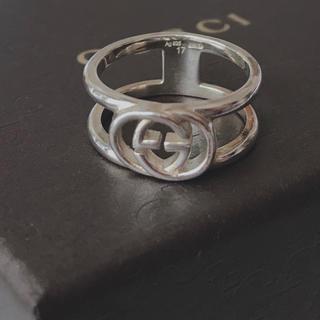 グッチ(Gucci)のGUCCI 17号 GGリング 美品(リング(指輪))