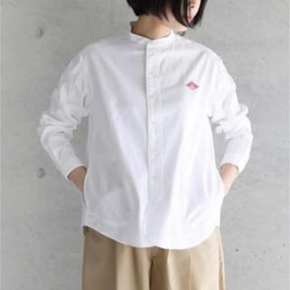ダントン(DANTON)のダントン バンドカラーシャツ (シャツ/ブラウス(長袖/七分))