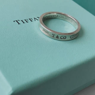 ティファニー(Tiffany & Co.)のティファニー ナローリング 17号 美品(リング(指輪))