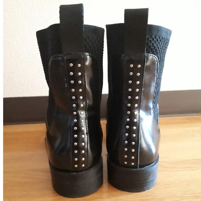 ZARA(ザラ)のZARAショートブーツ 37 レディースの靴/シューズ(ブーツ)の商品写真