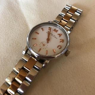 マークジェイコブス(MARC JACOBS)のマークジェイコブス /電池交換済み(腕時計)