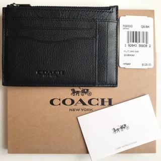 コーチ(COACH)のレア【新品】コーチCOACH名刺カード定期IDコインマルチケース(名刺入れ/定期入れ)