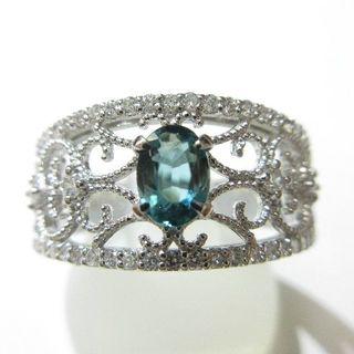 人気注目のグランディディエライト0.33ct プラチナ900製 指輪(リング(指輪))