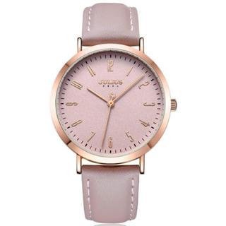 ユリウス(JULIUS)のレディース 腕時計 シンプル 大人 フェミニン かわいい ピンク(腕時計)