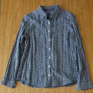 MUJI (無印良品) - 無印 チェックシャツ