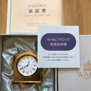 ワコウドウ(和光堂)の銀座WAKO時計(置時計)